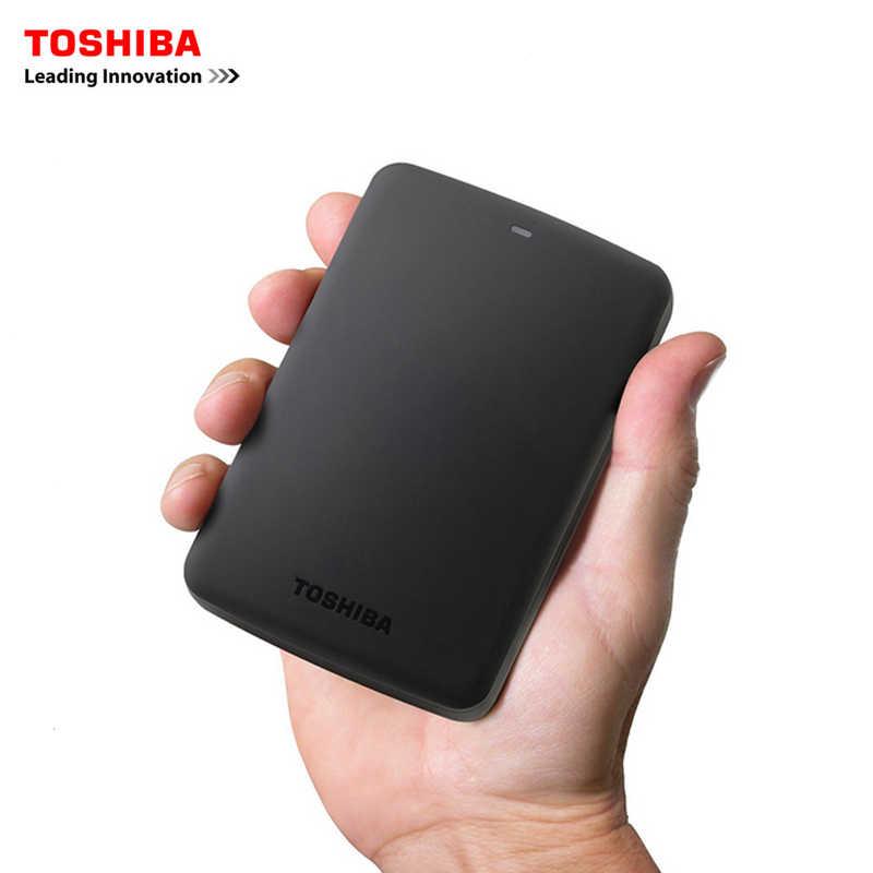 """Asli Toshiba 1TB 500GB HDD Eksternal 2.5 """"USB 3.0 5400 Rpm Hard Drive Eksternal 1TB Hard disk Drive untuk Laptop Komputer PC"""