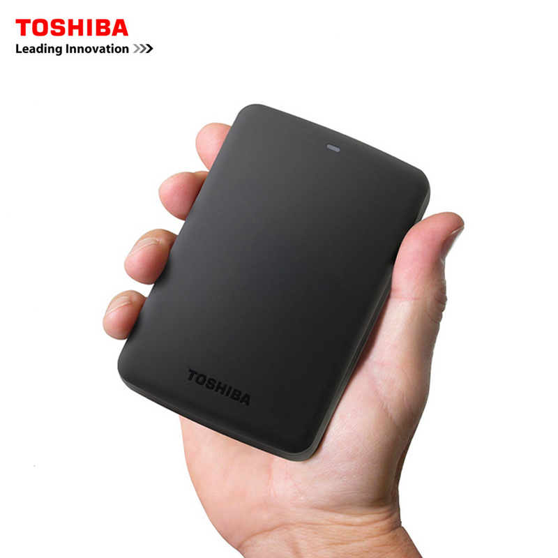 "Image 2 - Original Toshiba 1TB 500GB External HDD 2.5"" USB 3.0 5400RPM External Hard Drive 1TB Hard Disk Drive for Laptop Computer PC-in External Hard Drives from Computer & Office"