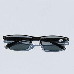 Image 4 - CHASHMA regulacja pola widzenia dwuogniskowe przejście słońce fotochromowe progresywne okulary do czytania okulary wieloogniskowe + 1 1.25 1.5 1.75