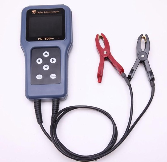 Digital Battery analyzer and battery load tester SC100 with LCD Display Update version MST-8000+ In Stock DHL Shipping Free
