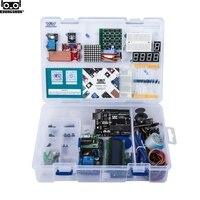 Новые электронные компоненты Junior Starter наборы с резистором Макет Блок питания для Arduino с пластиковой упаковкой коробки