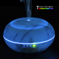 300ML 7 Colors Changing LED Aroma Diffuser Essential Oil Ultrasonic Air Humidifier Purifier Atomizer