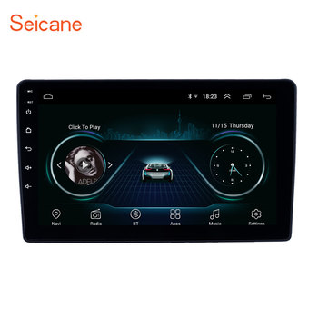 Seicane 2din Android 8.1 Car GPS navi Head Unit Player For Peugeot 307 2001 2002-2008 support SWC Backup camera Bluetooth Wifi image