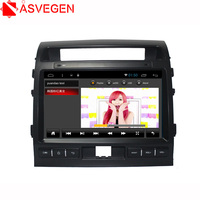 Asvegen Android Octa Core Car Radio Player For Toyota LAND CRUISER 2007 2015 2 Din Car