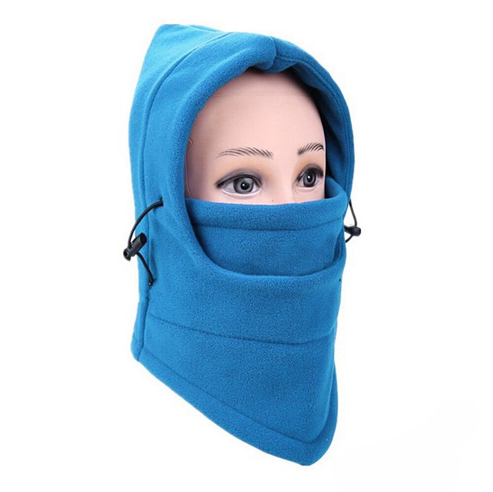 Новинка, 6 в 1, уличные Лыжные маски, велосипедные лыжные шапочки, зимние шапки с защитой от ветра# NE920 - Цвет: F