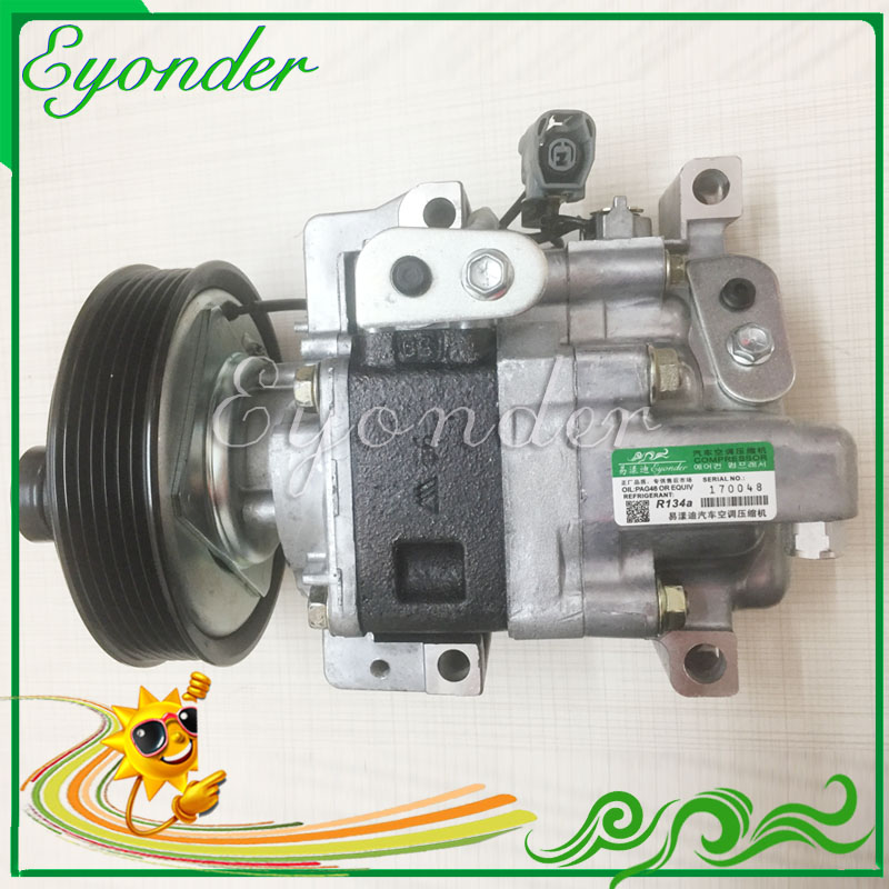 Ingenious Auto A/c Ac Air Con Compressor Pump For Panasonic Mazda 3 Mzr Mps Atenza 1.8 2.0 2.3 H12a1ajel Gj6a61k00f H12a1af4dw Gj6a61k00c Sales Of Quality Assurance Fans & Kits
