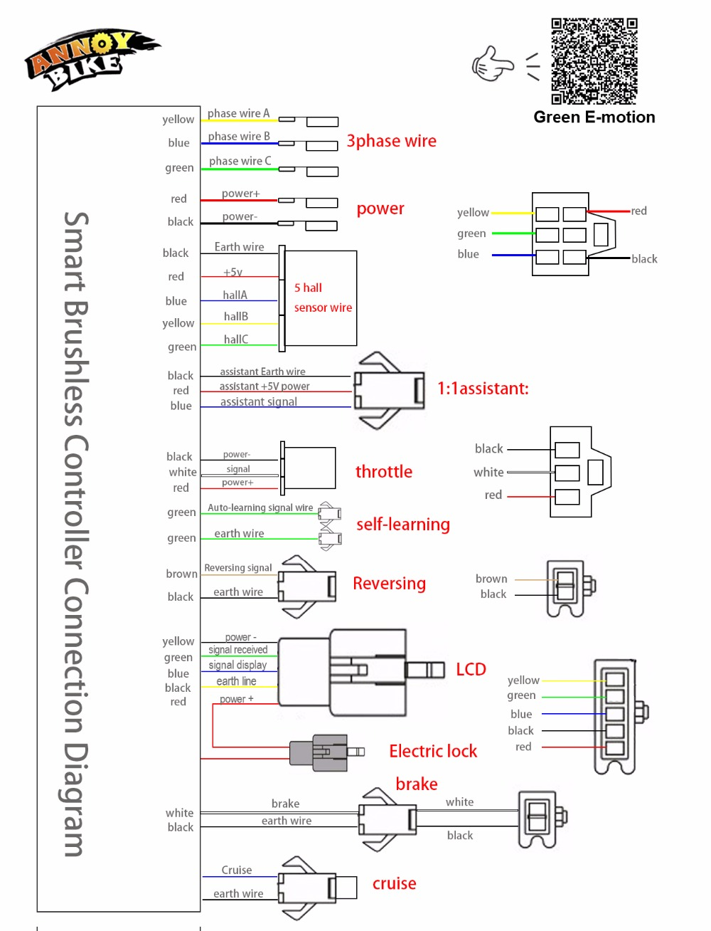 electric bicycle wiring diagram wiring diagram. Black Bedroom Furniture Sets. Home Design Ideas