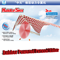 Free Shipping Rubber Powered Parasol Glider DIY Assembly airplane model puzzle plane model children gift Educational Toy