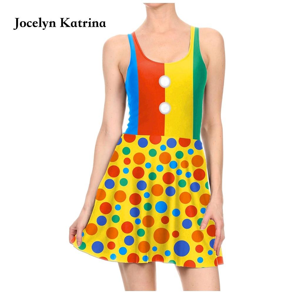 Jocelyn Katrina Stripes 3d Print Women Tennis Dress Saias One-Piece Skater Dress Sexy  Sleeveless Sundress
