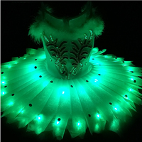 Children's Ballet dresses, luminous performances, girls' performance clothes, LED fluorescent pengpeng skirts, starlight Princes