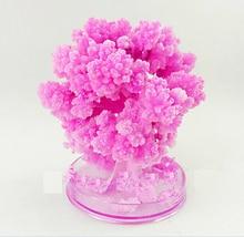 2017 10x8cm Magic artificiale Sakura Copaci de hârtie Crăciun în creștere Copac Desktop Cherry Blossom Magic Copii Jucării Japoneză 5PCS