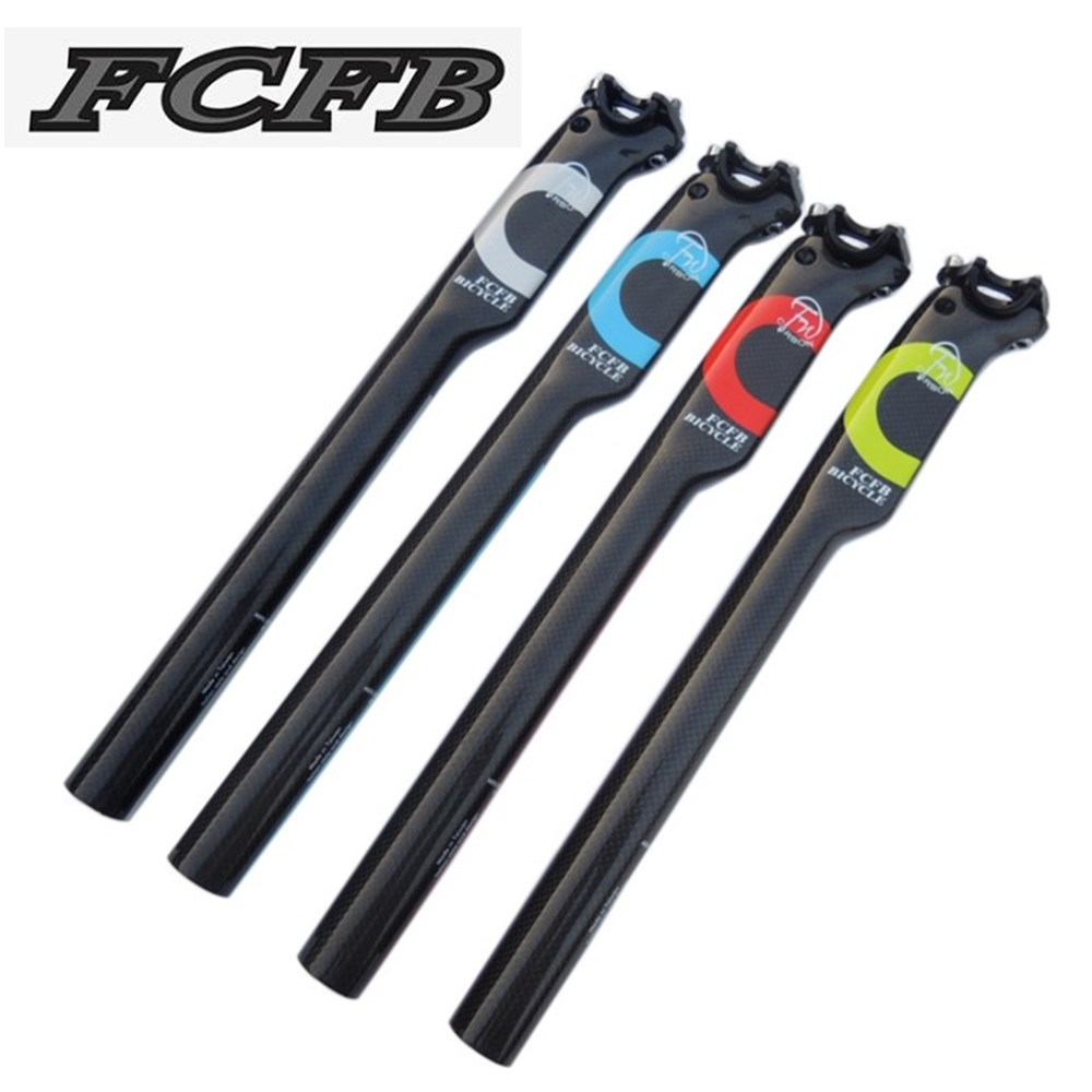United States FCFB FW carbon bicycle seatpost MTB road bike superlight carbon seat post 27.2 / 30.8 / 31.6 * 350/400MM стоимость