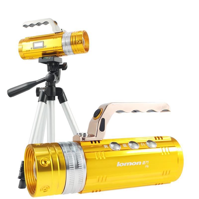 15W glare 200M <font><b>Long</b></font> Shots waterproof <font><b>Blu-ray</b></font> fishing lamp led Rechargeable A zoom <font><b>Night</b></font> fishing lights-----DD2