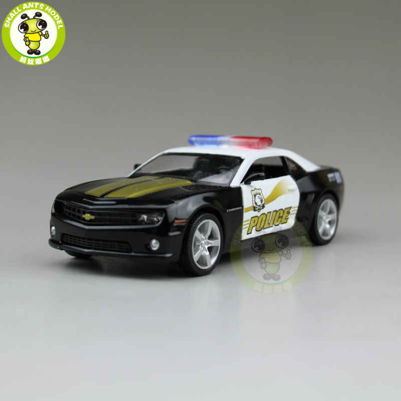 5 inch RMZ City Chevrolet CAMARO Diecast Model Police Car Toys for kids children Boy Girl Gift Collection Hobby Pull Back