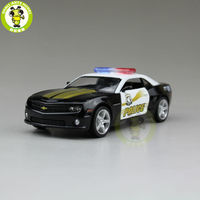 5 inch RMZ City Chevrolet CAMARO Diecast Model Police Car Toy Boy Girl Gift Collection Hobby Pull Back