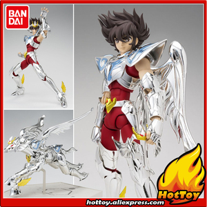 """Image 1 - 100% orijinal BANDAI ruhları Tamashii milletler Saint bez efsane aksiyon figürü Pegasus Seiya (cennet bölüm) çinden """"aziz Seiya"""""""