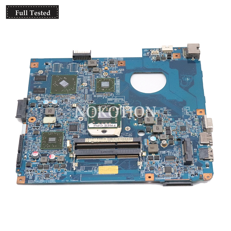 NOKOTION 09919-2 JE40-DN MB 48.4HD01.021 Main board for Acer Asipre 4551 4551G laptop motherboard HD 5470 DDR3 Full tested