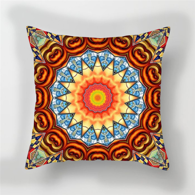Fuwatacchi Floral Throw Pillows 3D Style Cushion Cover Multi Color Flower Printed Pillow Cover Decorative Pillows for Sofa Car in Cushion Cover from Home Garden