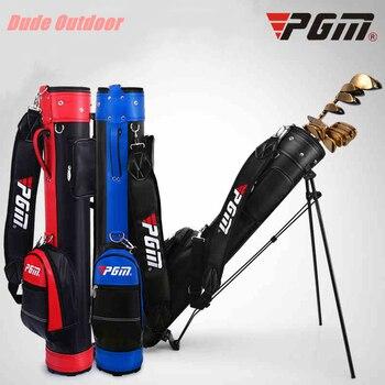 {For Sale Online Golf bag Golf Set Standard Rack Bag Brand PGM Golf Standard bag with travel Wheels Stand Tripod Caddy cart bag