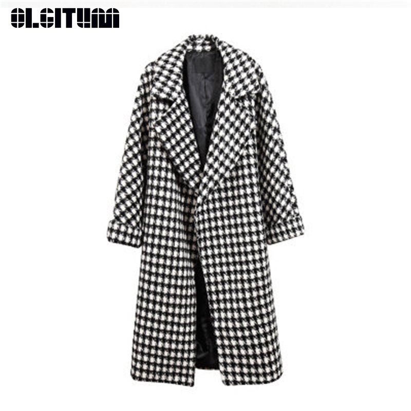 2db0884eed New 2018 Autumn and Winter Korean Thick Black and White Gauze Jacket ...