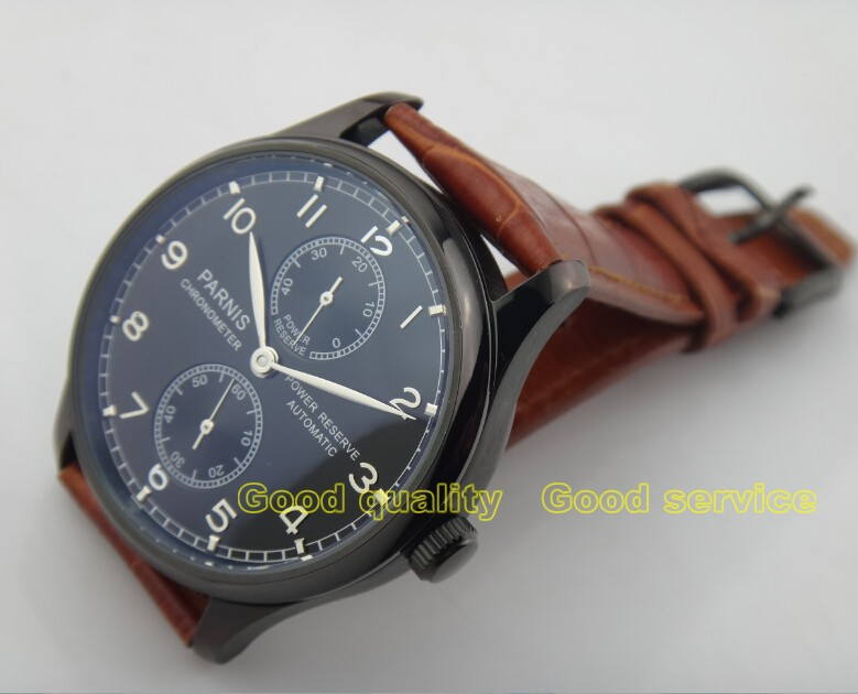 2015new fashion  43mm PARNIS energy shows Asian ST2530 automatic mechanical mens watch 2016 new fashion2015new fashion  43mm PARNIS energy shows Asian ST2530 automatic mechanical mens watch 2016 new fashion