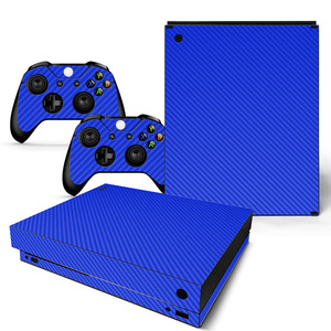 Image 2 - Vinyl Skin For Microsoft XBOX ONE X Console  and Controllers Sticker Cover Skins For X box One X Decal