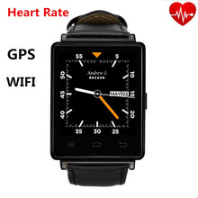 D6 Smartwatch 1GB RAM 8GB ROM 3G WIFI Bluetooth Android Smart Watch Phone With GPS HeartRate Monitor FM RadioWith Quad Core CPU