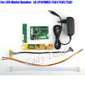 HDMI Controller Board + Backlight Inverter + 30P Lvds Cable + Adapter for LP141WX3 TLA1 TLN1 TLQ1 1280x800 1ch 6 bit LCD Panel