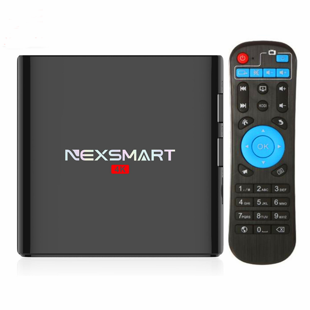 NEXSMART D32 Android Smart TV Box RK3299 Quad-core Android 5.1 Set Top Box 1G/8G 4K Media Player KD16.1 Support Wifi Bluetooth mx plus amlogic s905 smart tv box 4k android 5 1 1 quad core 1g 8g wifi dlna потокового tv box