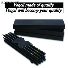 Pure Black Pencils for School Drawing Pencil Set Charcoal Simple Kids Wooden Staedtler Sketch Hb Graphite Potloden
