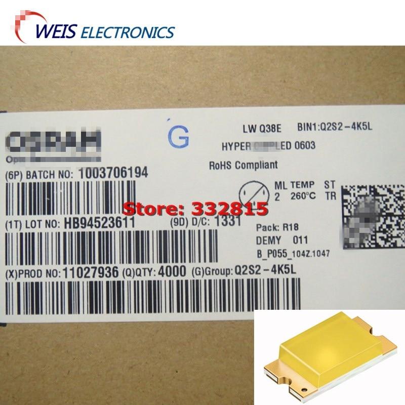 20 шт LWQ38E-Q2S2-4K5L LW Q38E CHIPLED 0603 белый (0,3, 0,28) 36 лм/Вт цветные диффузные смолы Бесплатная доставка