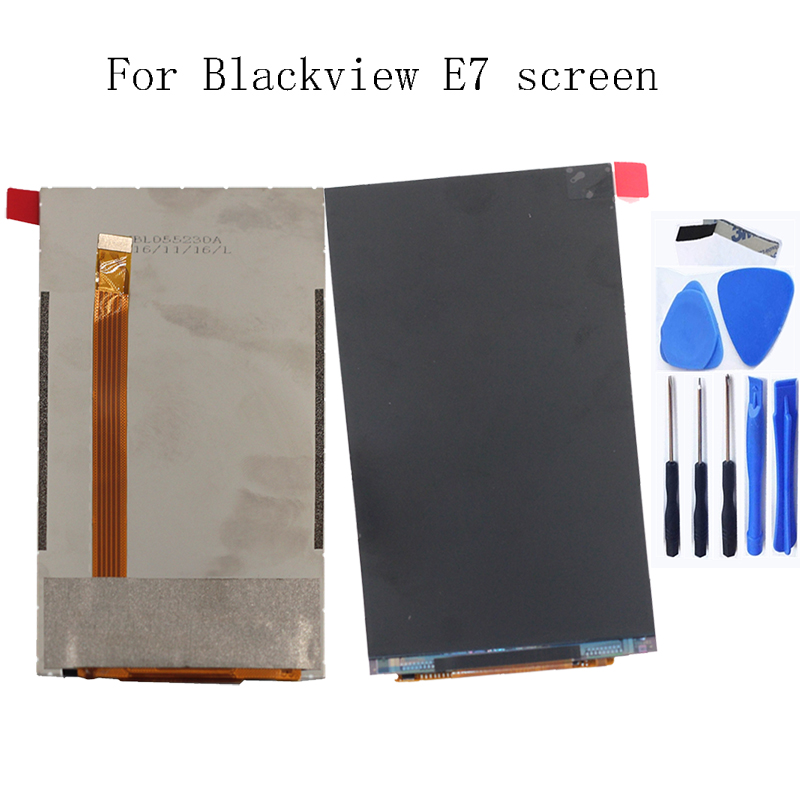Image 5 - LCD is only available for Blackview E7 LCD screen display replacement Blackview E7S LCD repair parts-in Mobile Phone LCD Screens from Cellphones & Telecommunications