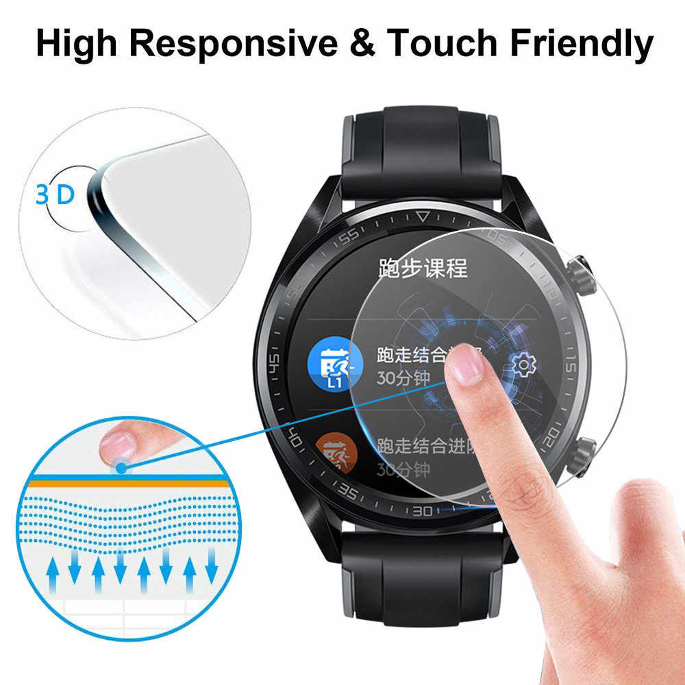 Smartwatch Smartband Protection Portable 5PCS Explosion-proof TPU Screen Protector Full Coverage Film For Huawei Watch GT