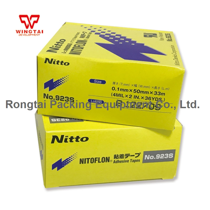 3 pcs /lot T0.1mmxW50mmxL33m Nitto Denko Tape Nitoflon 923S PTFE Heat Sealing Tape
