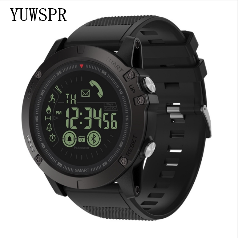 Men Watch Bracelet Sport-Wristband All-Weather-Monitoring Android 24h 33-Month VIBE3