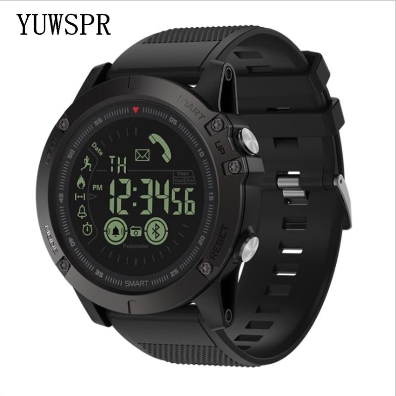 Hommes montre bracelet athlète 33 mois veille 24h tous temps surveillance sport bracelet IOS Android VIBE3