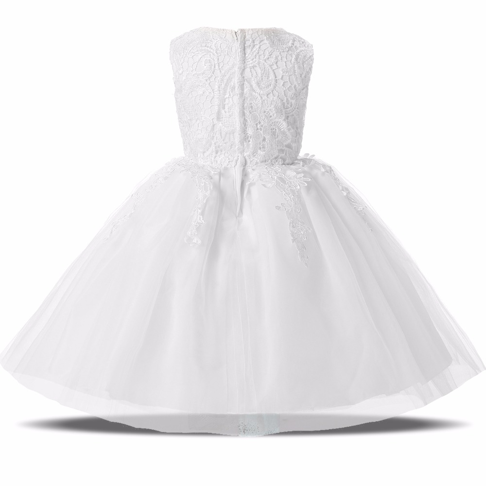 dc8db8aafb9 2017 Summer Lace Kids Fairy Dresses For Baby Girl First Birthday Party Wear  Infant Christening Gown Dress Girl Baby Kid Clothing-in Dresses from Mother  ...