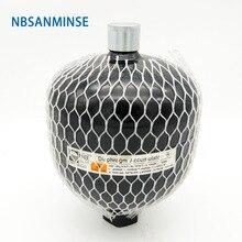 NBSANMINSE GXQ 0.32 ~ 1L Diaphragm Accumulator Laser Welding Of Pressure Vessels High 31.5Mpa 33Mpa