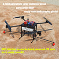 The DIY Agriculture spray multirotor drone quadcopter empty pure carbon fiber frame U-1200 + 10KG spray gimbal system