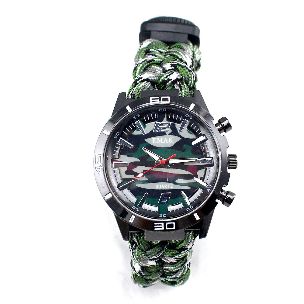 Watches Compass Sports with Straw-Rope Military Camouflage Men's Fashion High-Quality