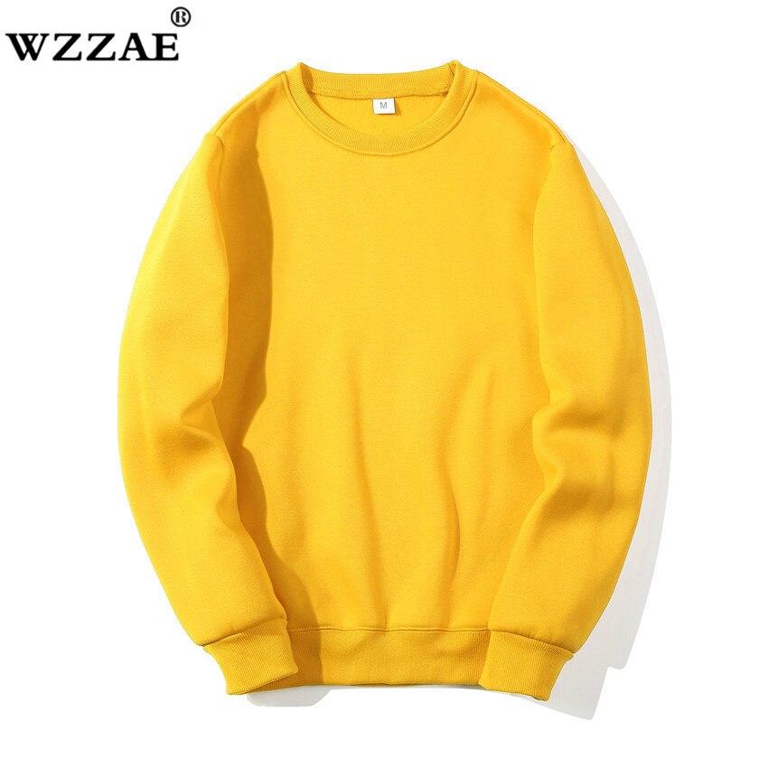 Solid Sweatshirts Spring Autumn Fashion Hoodies Male Warm Fleece Coat Hip Hop Hoodies Sweatshirts 16