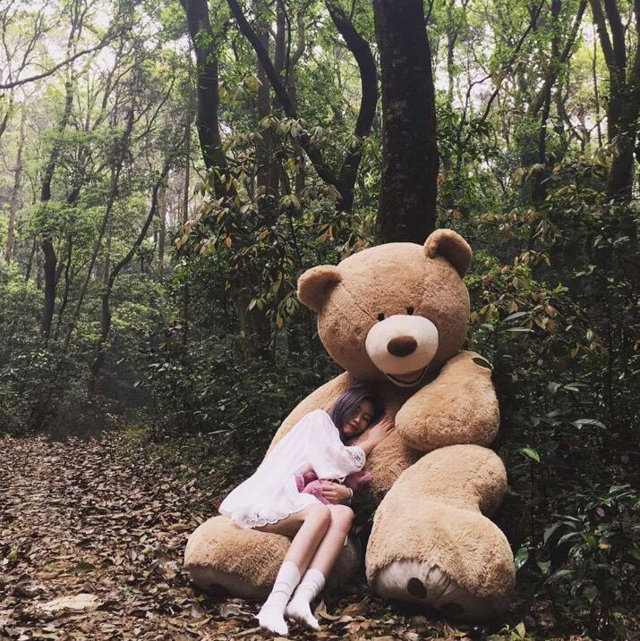100cm The Giant Teddy Bear Soft Plush Toy Stuffed Animal High Quality Kids Toys Birthday Gift Valentine's Day Gifts For Women