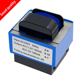 Wysokiej jakości nowy kuchenka mikrofalowa transformator AC 220V do 11 V 7 V 140mA 180mA 7-pin części piekarnika mikrofalowego tanie i dobre opinie AC 220V to 11V 7V Części kuchenka mikrofalowa