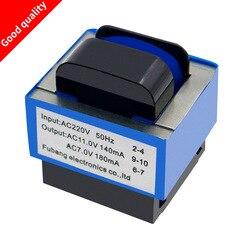 Wysokiej jakości nowy kuchenka mikrofalowa transformator AC 220V do 11 V/7 V 140mA/180mA 7-pin części piekarnika mikrofalowego