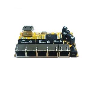 Image 3 - OEM/ODM PCBA Industrial switch modulee5 Port 10/100/1000M unmanaged network ethernet switch ethernet hub  managed poe switch