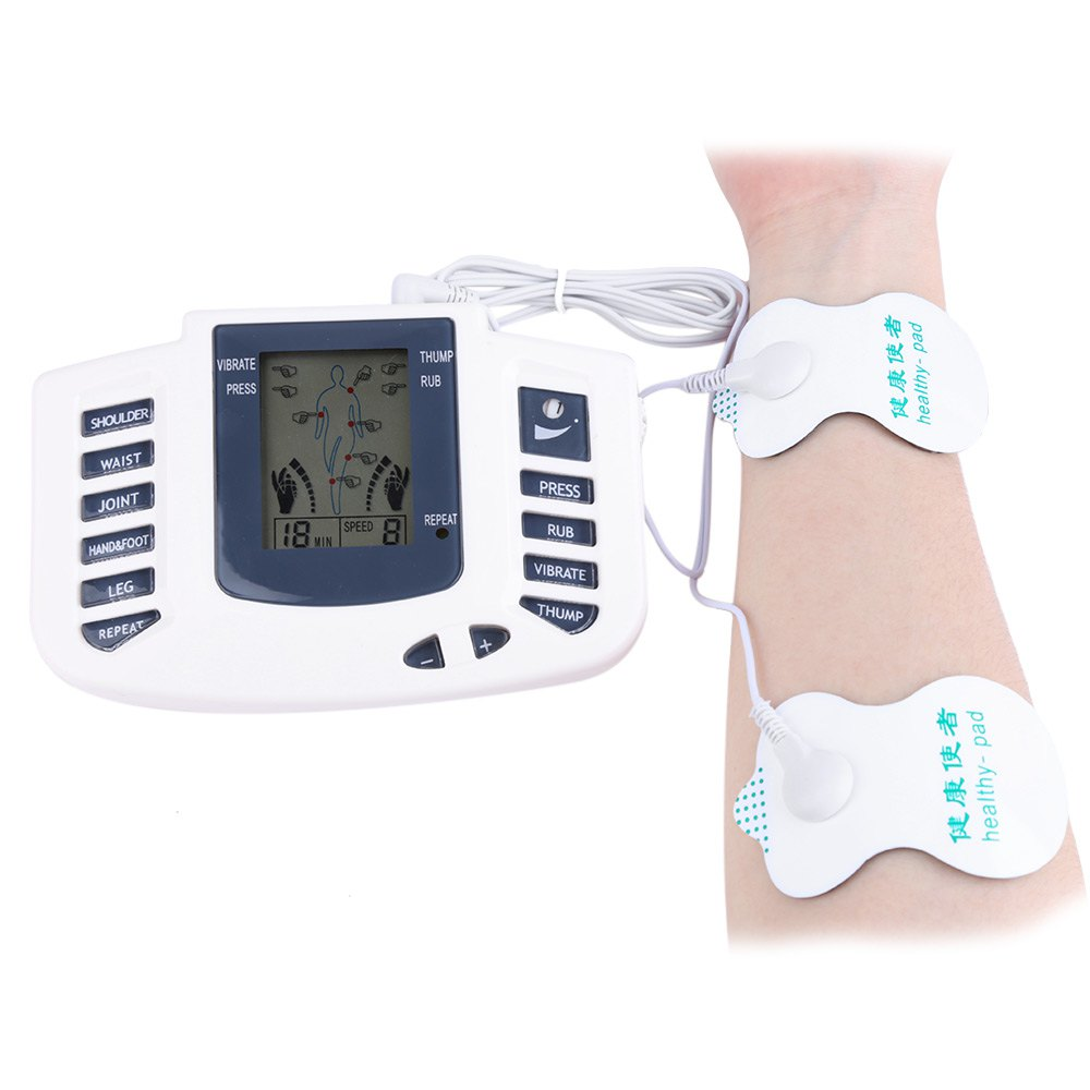 Electronic Body Slimming Pulse Massage For <font><b>Muscle</b></font> Relax Pain Relief Stimulator Acupuncture Therapy Machine With Digital Display