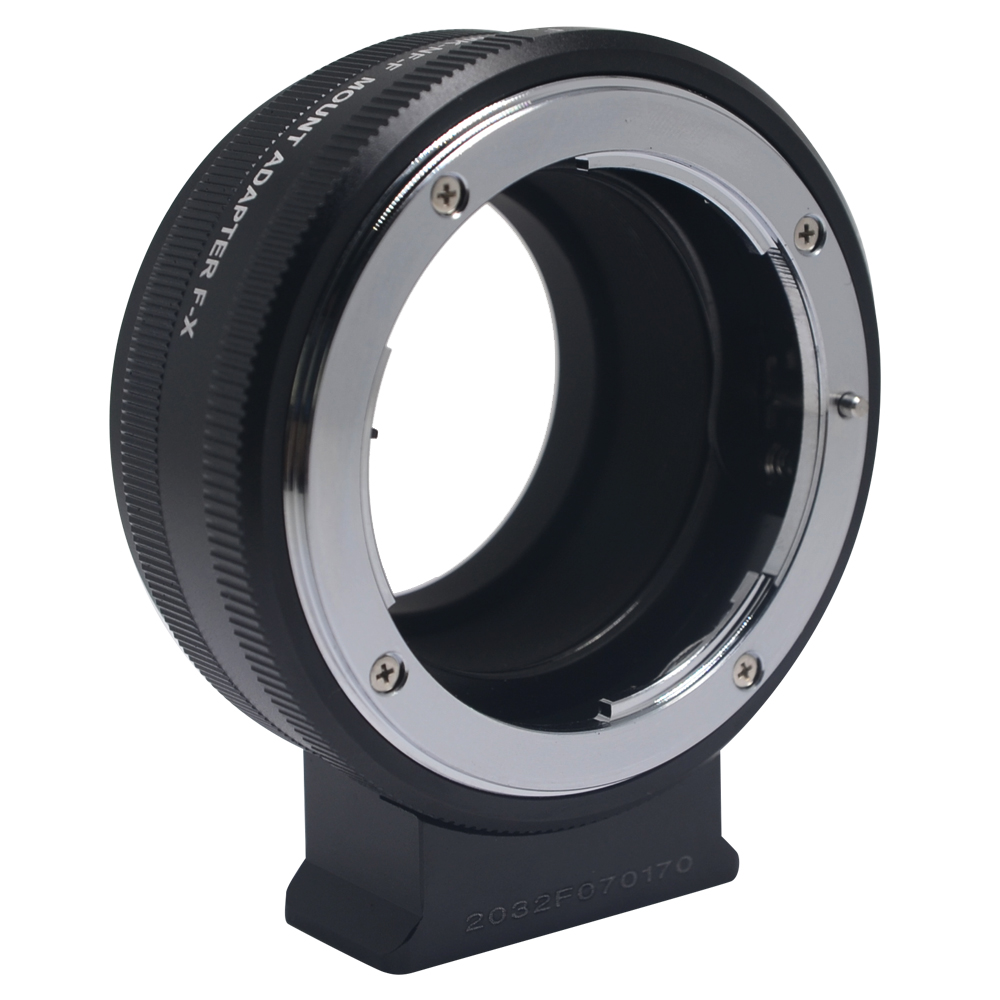 Meike MK-NF-F Mount Adapter Ring Professional Design for Nikon F-Mount Lens to Fuji Mirrorless X-mount Camera bodyboard mount