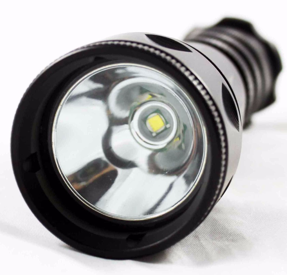 ФОТО Uniquefire DT2-Cree U2 Diving Led Flashlight Underwater Torch 1200LM Super Bright Lighting Stepless Dimming Diving Lamp Torch