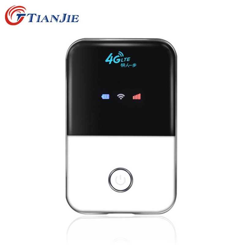4G Lte Wifi Router mini Wireless  Portable  Pocket  wi fi  Mobile Hotspot Car Wi-fi Router With Sim Card Slot new arrival wholesale mobile portable multifunctional mini wireless power bank battary charger 3g wifi router with sim card slot