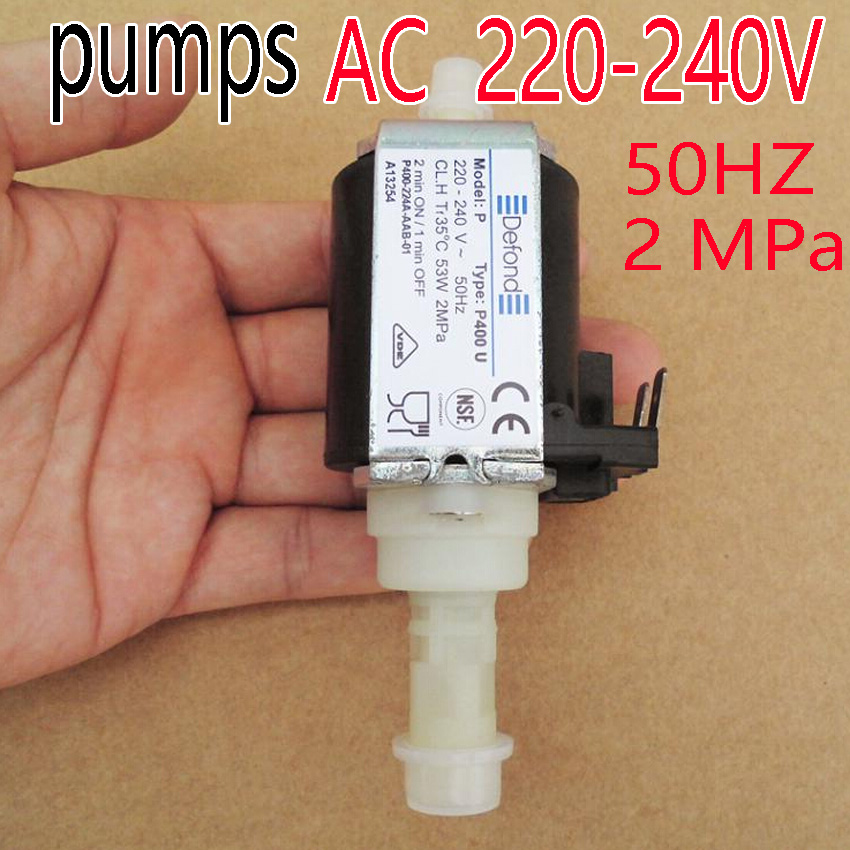 freeshipping New P- 400u electromagnetic pump coffee machine pumps Medical apparatus and instruments cleaning machine water pump original ulka ep5 electromagnetic coffee machine medical apparatus pumps